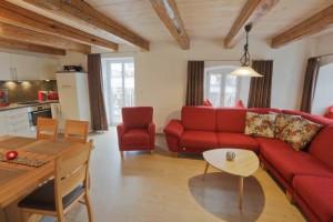 Ferienhaus Wimbauer - Wohnung 2 - Wohnen und Kochen